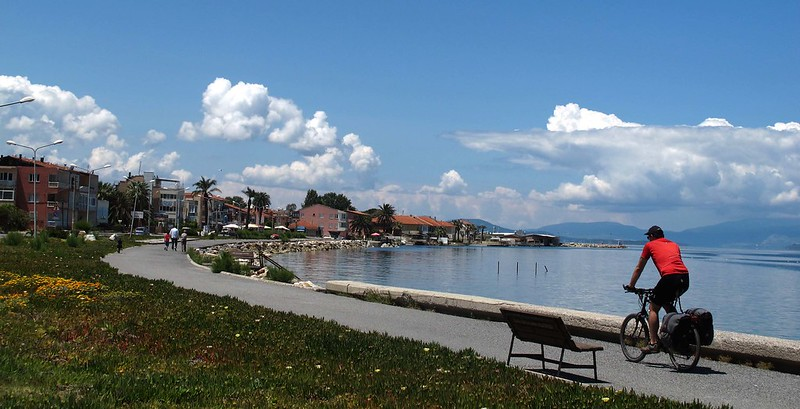 İzmir Bisiklet Rotaları demircili koyu