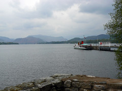 Ullswater with Ferry at Pooley Bridge (1)