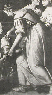 Pietro Ronzelli: Nativita di Maria, Chiesa del Carmine, Bergamo