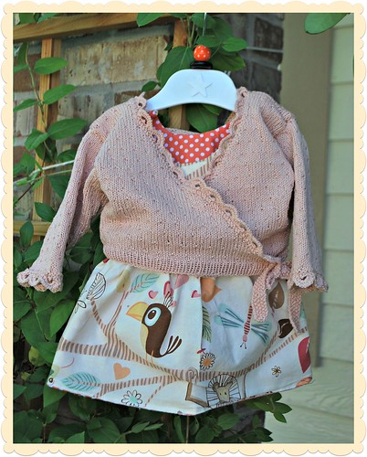Itty Bitty Baby Dress and the Dolly Wrap