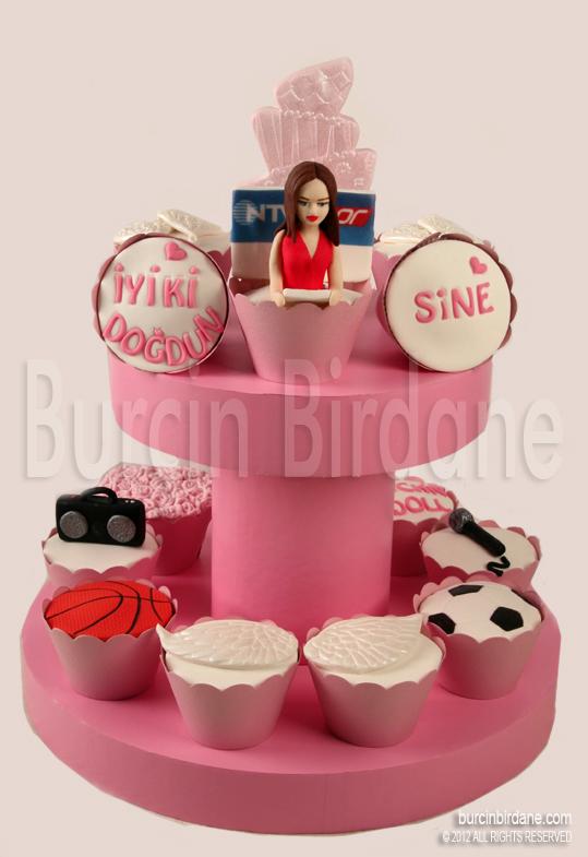 Dogum gunu cupcake 2