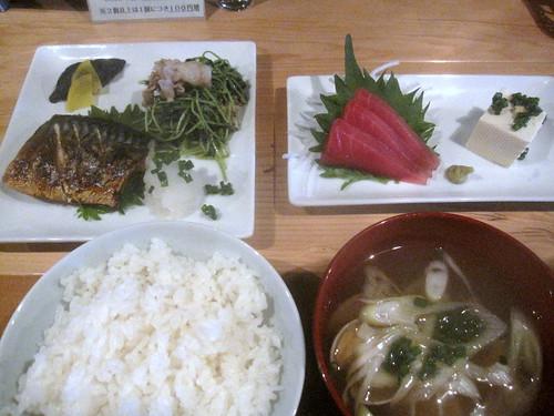 日替わり定食@いんぎら(江古田)