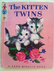 The Kitten Twins vintage children's book