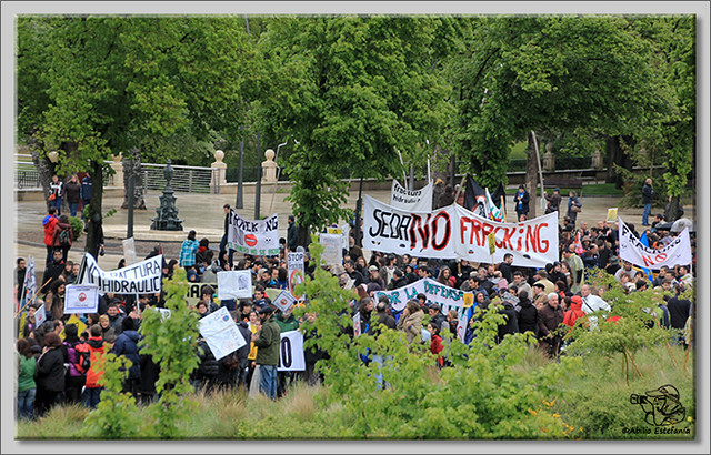 13 Manifestación contra el fracking en Burgos