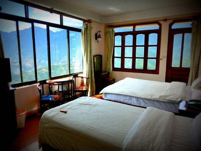 Hotel with mountain views in Sapa