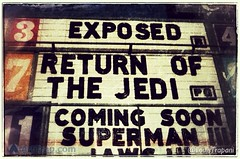 Taken 30 years ago today. #StarWars #ROTJ