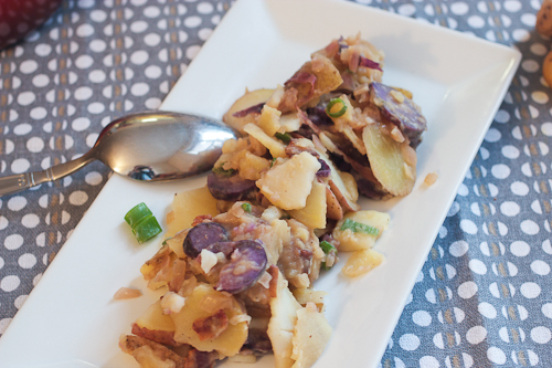 German Potato Salad #SundaySupper