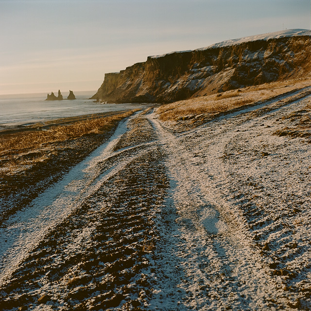 Cliffs in Vik