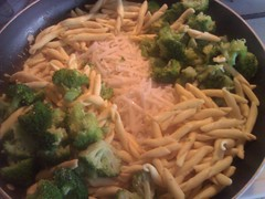 meal, broccoli, vegetable, vegetarian food, penne, produce, food, dish, cuisine,