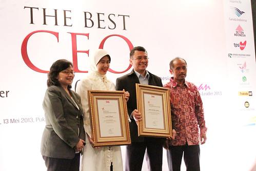 The Indonesia Future Business Leader 2013: para pemenang.