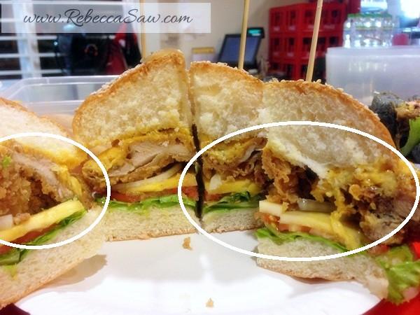 the Big Hug Burger at SS15 Subang Square-011