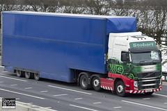 Volvo FH 6x2 Tractor - PX61 BFL - Shannon Denise - Eddie Stobart - M1 J10 Luton - Steven Gray - IMG_7496