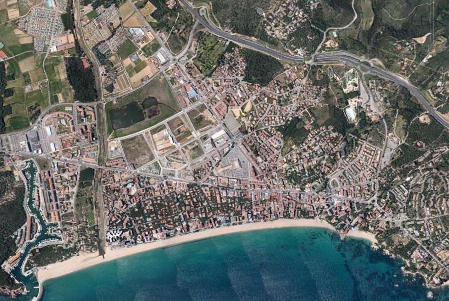 castell, platja, d'aro, playa, de aro, gerona, girona, cataluña, catalunya, costa, litoral, después, desastre, urbanístico, planeamiento, urbano, construcción, urbanismo