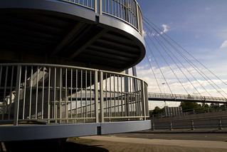 Footbridge Over A61/M621 - Hunslet - Leeds