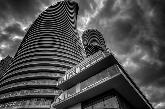 Absolutely Twisted @ Absolute Condos, Mississauga Ontario (Explore)
