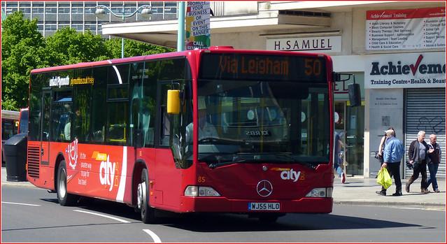Plymouth Citybus 085 WJ55HLO