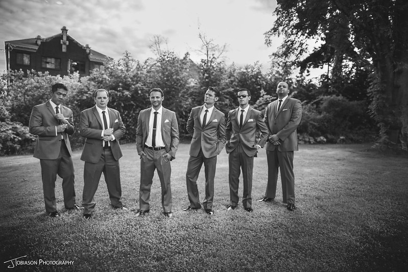 Groomsmen mad men