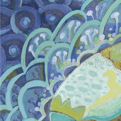 """""""Prehistoric Aquarium""""  Detail 1"""