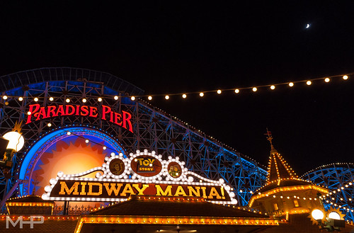 Lights on Paradise Pier