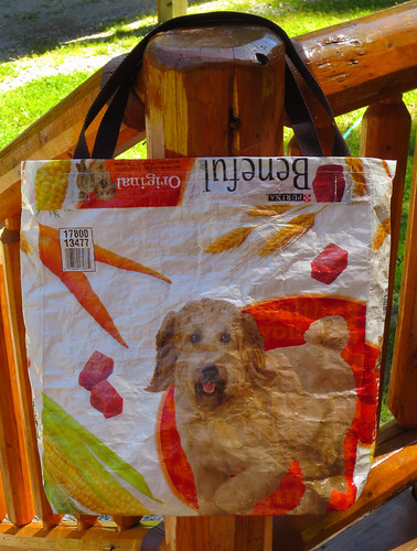 Recycled Dog Food Bag