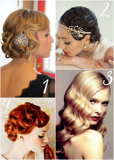 Photo:1920's Hair inspiration By Lea Ann Belter Bridal