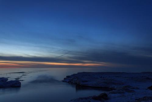 sunset selkirkshoresstatepark
