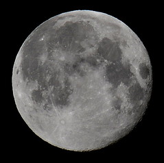 Perigee Waning Gibbous Moon