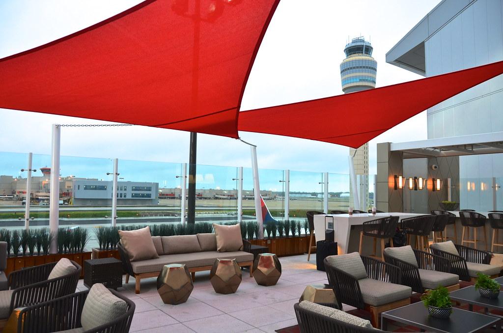 Delta Airlines Sky Deck