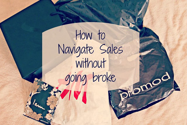 How to navigate Sales without going broke I StylebyCharlotte.com