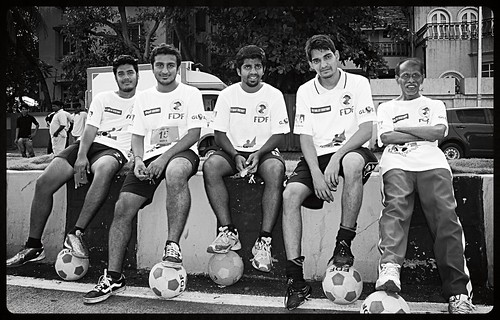 Marathon Footballers Shot By Marziya Shakir 4 Year Old Carter Road Bandra by firoze shakir photographerno1