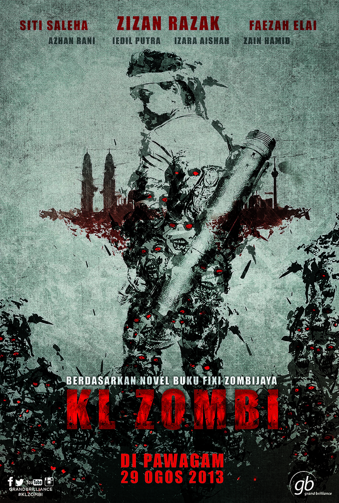 Poster Filem Kl Zombie