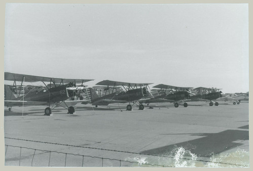 Biplanes on the Runway