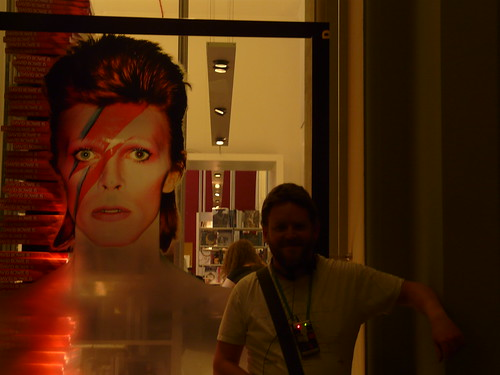 Me at David Bowie Is, V&A