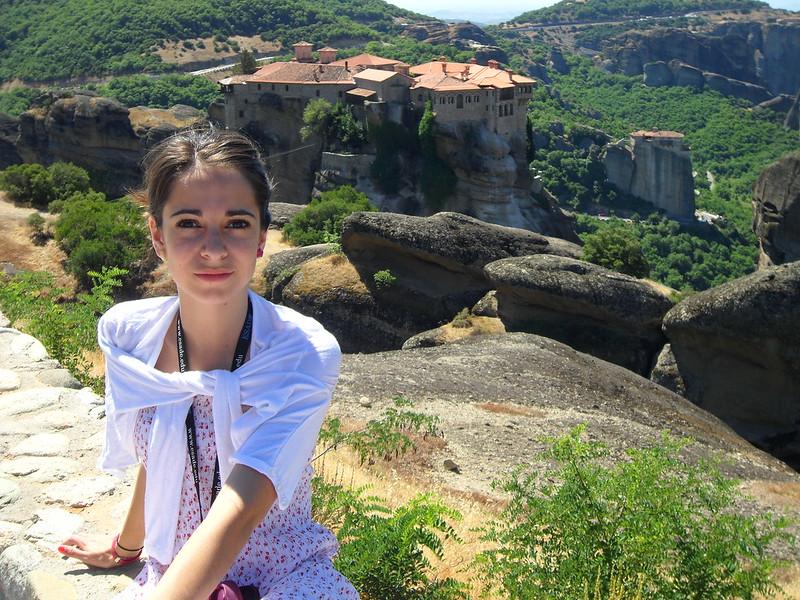 Monasterios de Meteora, en Grecia.
