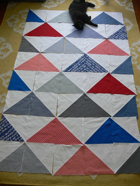 Jenny: Hugo's Quilt in Progress