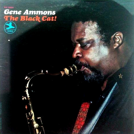 gene ammons black cat front