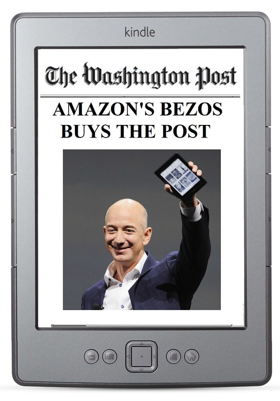 Jeff Bezos buys the Washington Post