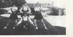 Mesa Community College 1965 Cheerleaders