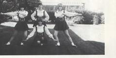 Mesa Community College 1965 Cheerleaders
