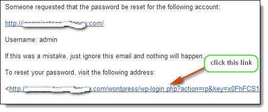 how to recover wordpress password