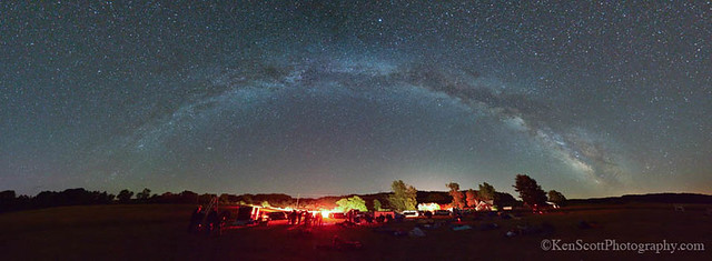 Sleeping Bear Dunes ... star party!