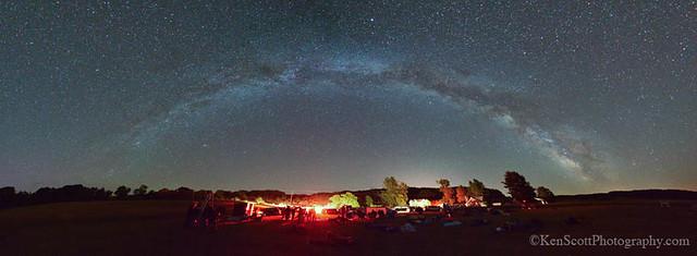 Sleeping Bear Dunes ... star party!