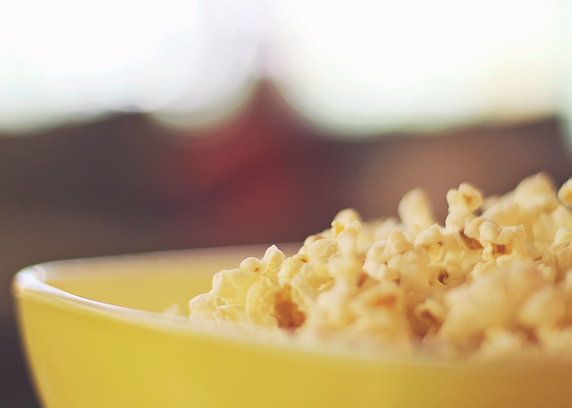 222. Popcorn and a movie