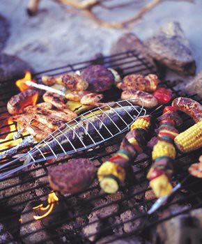 Seafood Barbecue in Guernsey