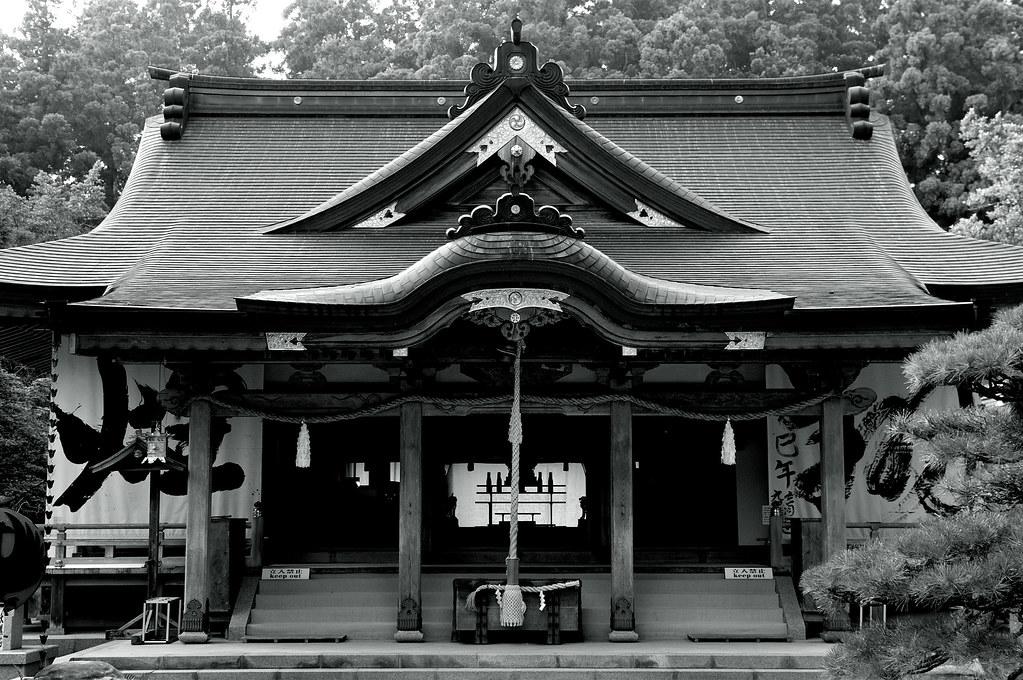 拝殿|熊野本宮大社