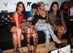 Juelz Santana his girlfriend Kimbella , Vado , and Dj Envy @ a Birthday party