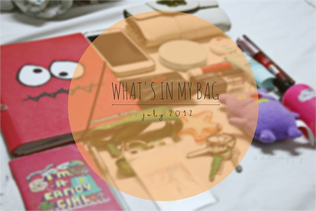 What's in my bag {JULY}