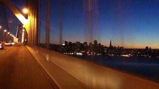 Day6-3 夜のサンフランシスコ