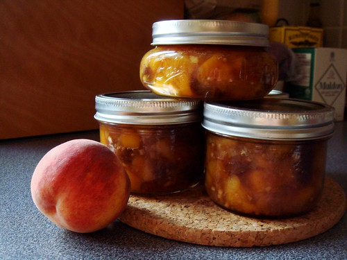 Honey-Sweetened Peach Chutney