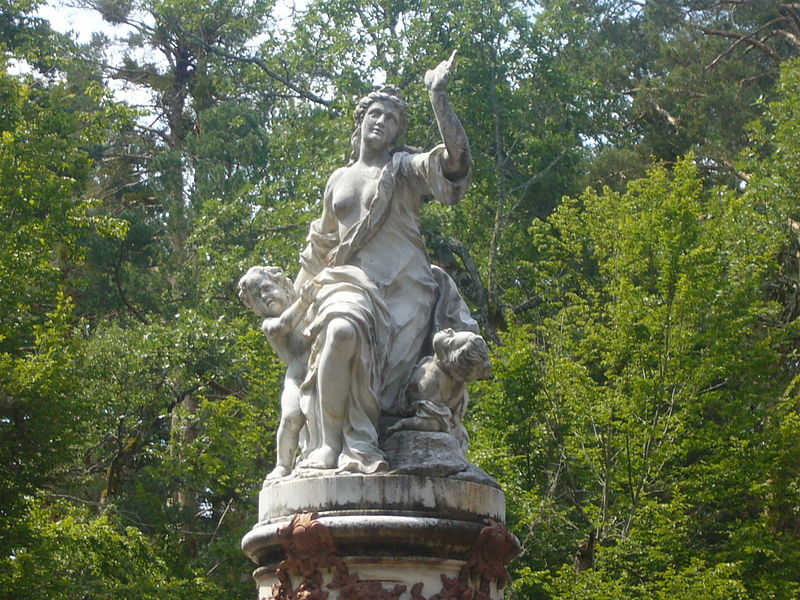 10. Estatua clásica en La Granja. Autor, Sammy Pompon